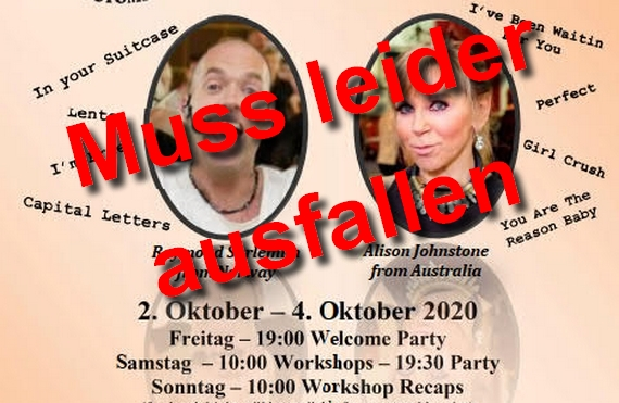 04.10. bis 06.10.2019 - 16. internationaler Line Dance Treff